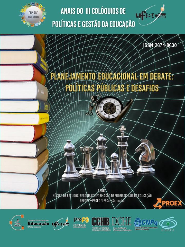 Visualizar n. 3 (2022): PLANEJAMENTO EDUCACIONAL EM DEBATE:  POLÍTICAS PÚBLICAS E DESAFIOS
